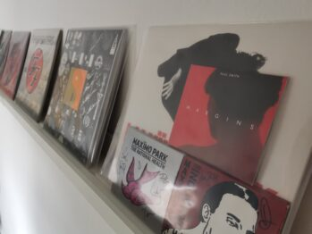 A very small selection of my vinyl collection