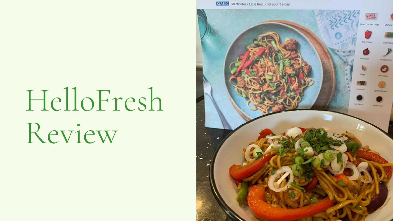 HelloFresh Header
