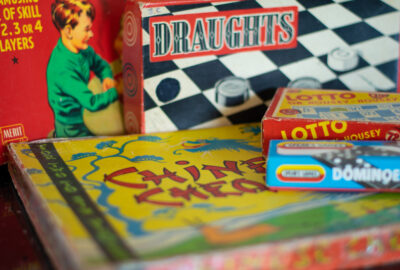 Childhood memories – games and puzzles