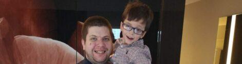 James and Joshua - Starting School