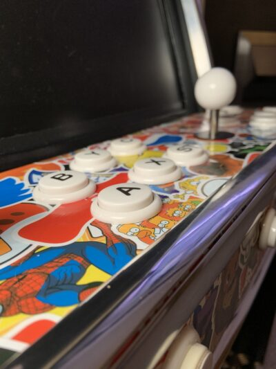 DIY Arcade Machine – for toddlers – (and me, I think it's pretty cool!)