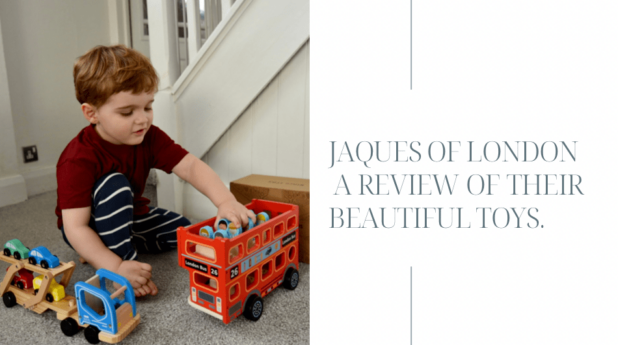 Jaques of London – a review of their beautiful toys.